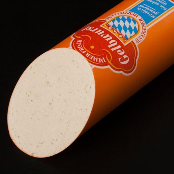 Gelbwurst ein Einsle-Spitzenprodukt